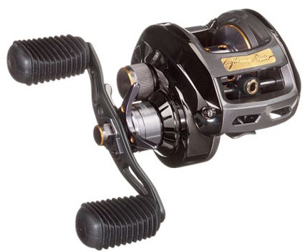 Johnny Morris Signature Series Bass Caster Baitcast Reel Signature Series II Trigger Rod Combo