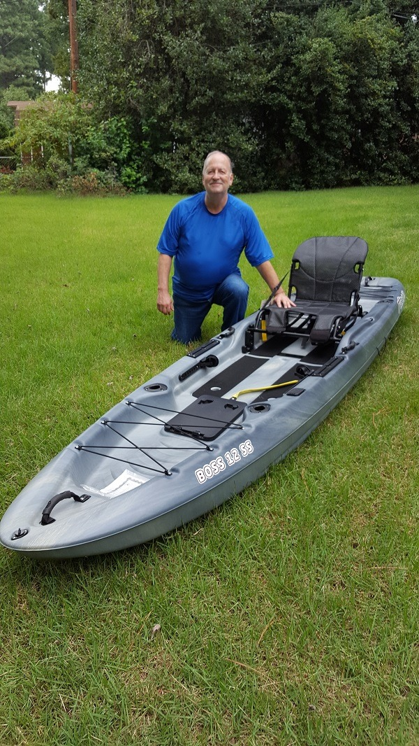 Kayak Giveaway Winner from Rusty Angler