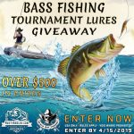 bass fishing tournament lures giveaways