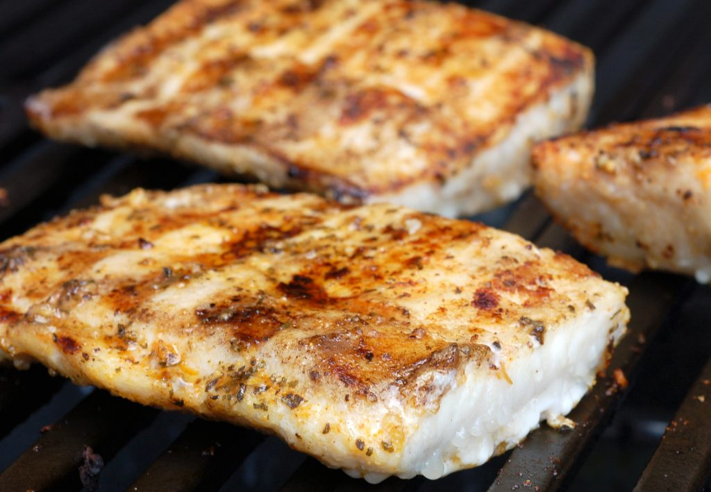 mahi mahi on the grill - best type of fish to eat