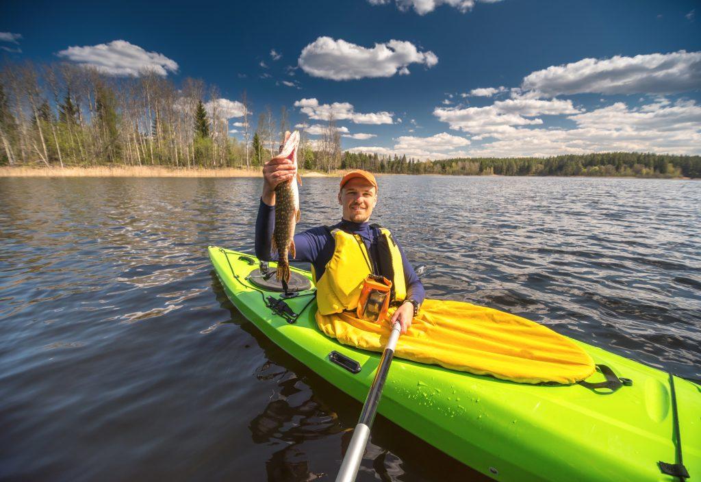 Fishing on a Kayak Bassmaster Tips on Bass Fish