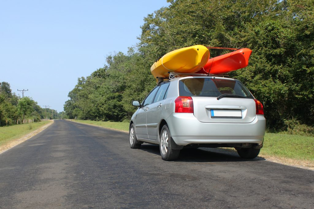kayak roof rack - car roof rack kayak
