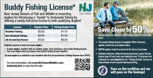 nj buddy fishing license