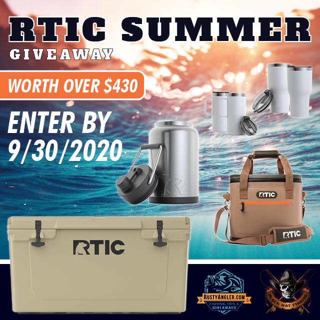 RTIC Coolers Coffee Mug Cups Tumblers Jug Giveaway