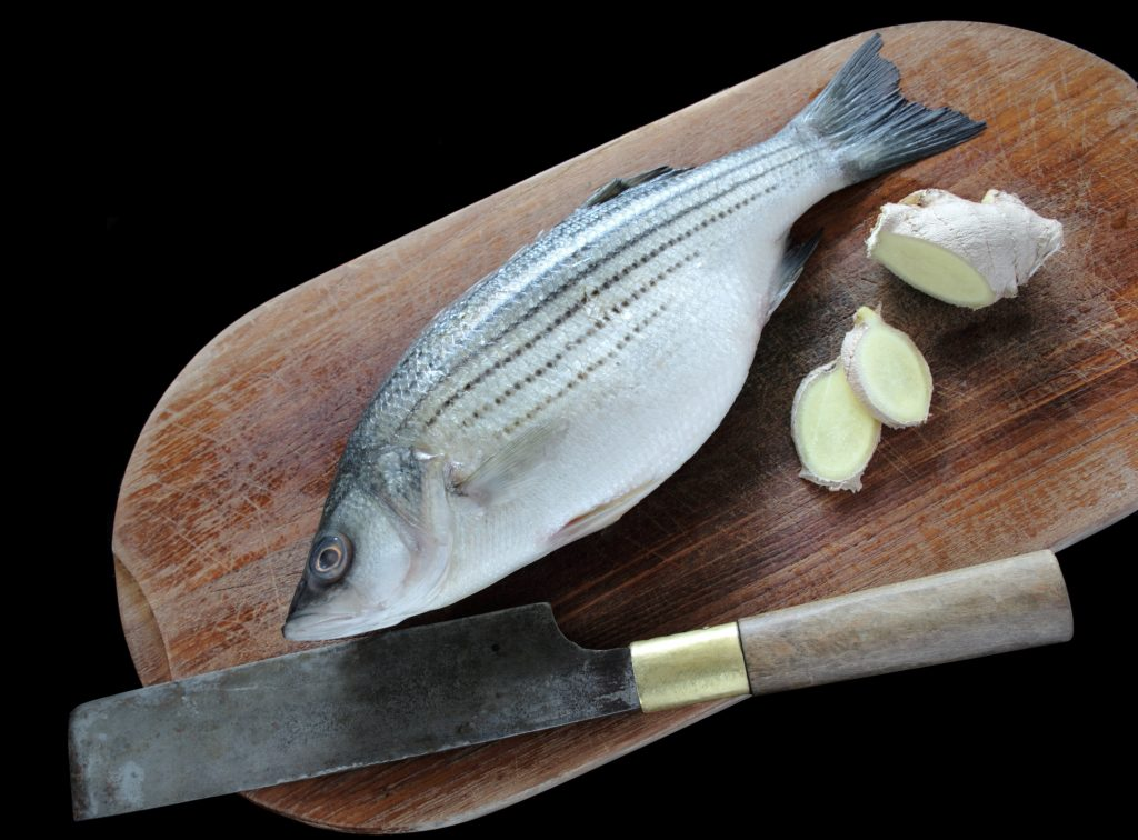 striped bass cooking