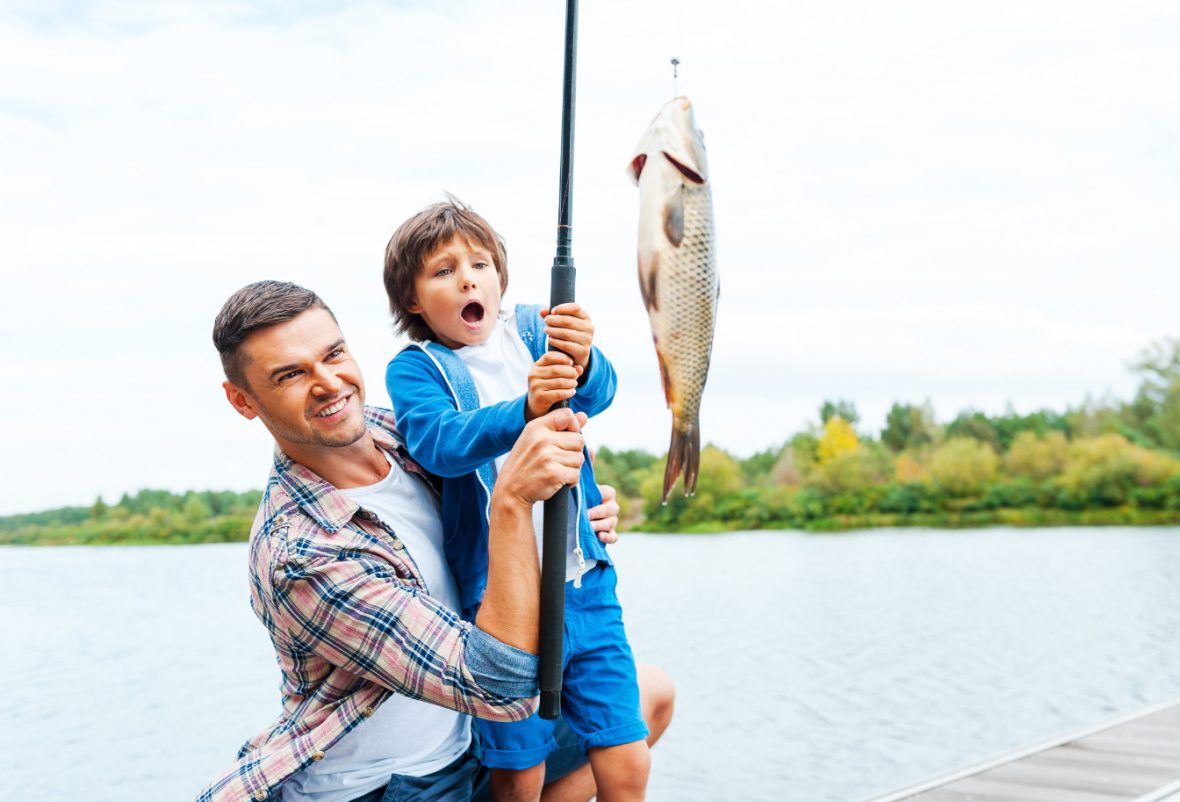 teach kids to fish