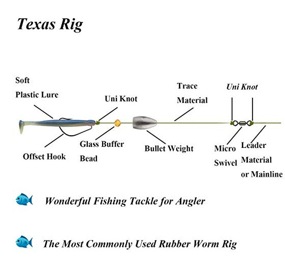texas rig fishing